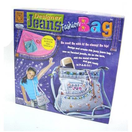 """Набор для творчества """"Джинсовая сумочка - твой собственный дизайн"""" c 7 лет"""