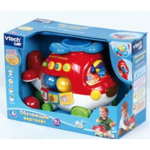 Развивающая игрушка Вертолетик - каталка