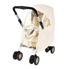 Дождевик для колясок Aprica Luxuna (прозрачный/бежевый)