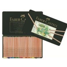 Пастельные карандаши Pitt в металлической коробке (36 штук)