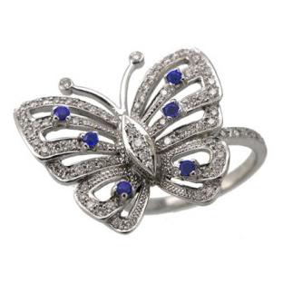 Кольцо с 50-ю бриллиантами