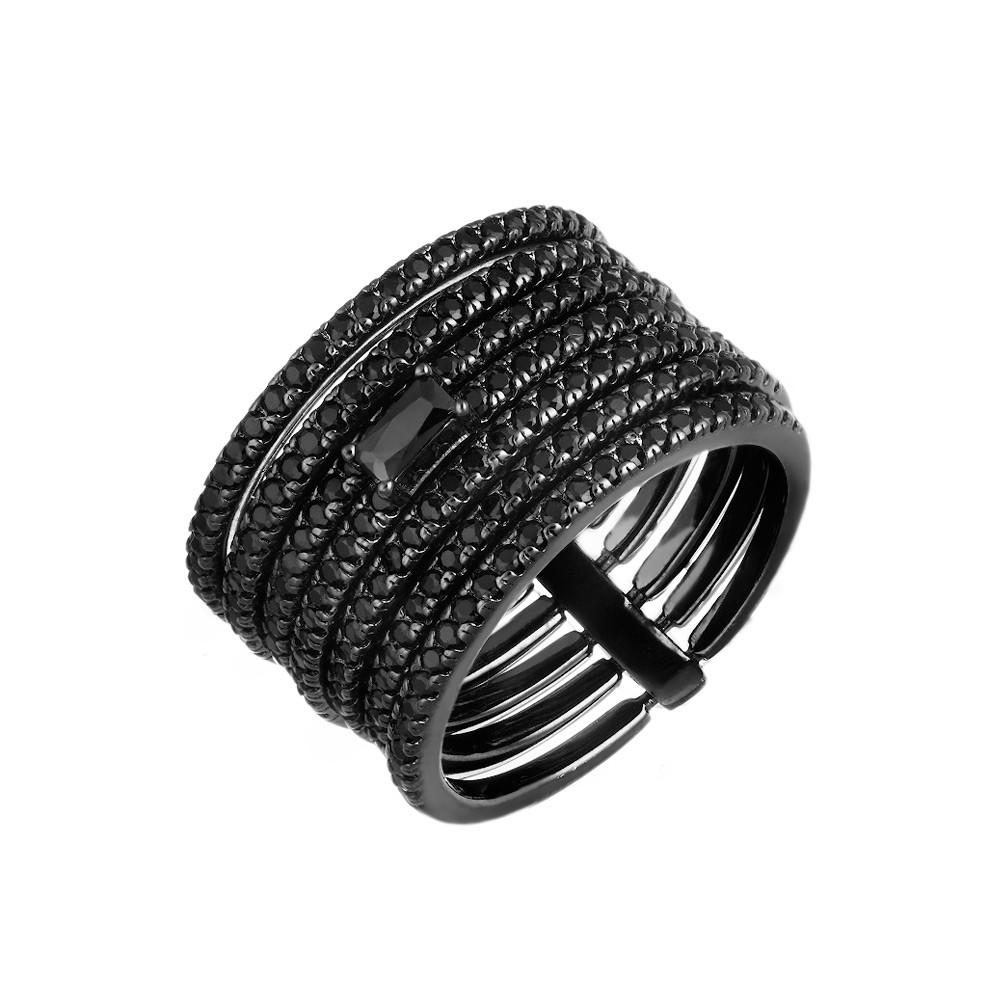 Черненое кольцо «Неделька»