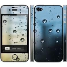 Наклейка на iphone 4/4S Капли