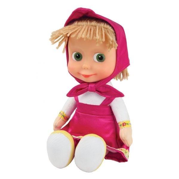 Мягкая игрушка Маша из мультика Маша и медведь (с веревочными волосами)