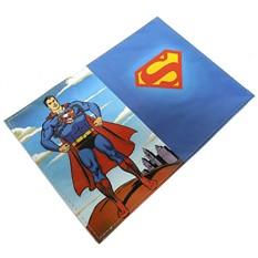 Обложка для паспорта кожаная Супермен