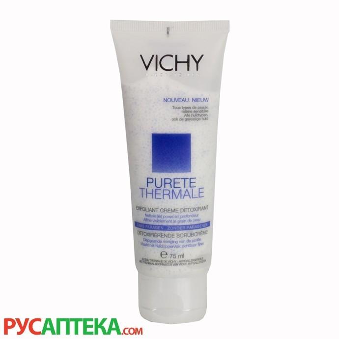 Отшелушивающий крем-эксфолиант VICHY Purete Thermal