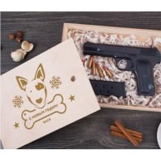 Именной шоколадный пистолет «Символ года»