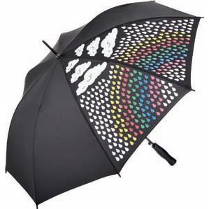 Зонт-трость с термокартинкой