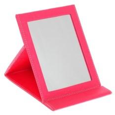 Розовое настольное зеркало