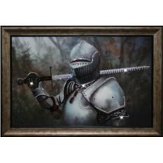 Картина с кристаллами Сваровски Рыцарь