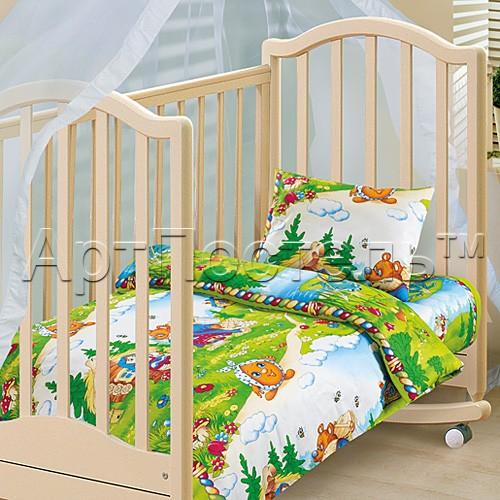 Комплект постельного белья В гостях у сказки, на резинке