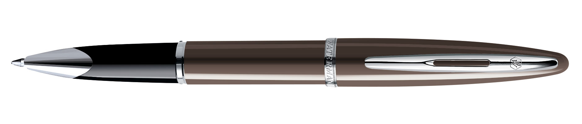Ручка-роллер Waterman Carene Frosty Brown Lacquer ST