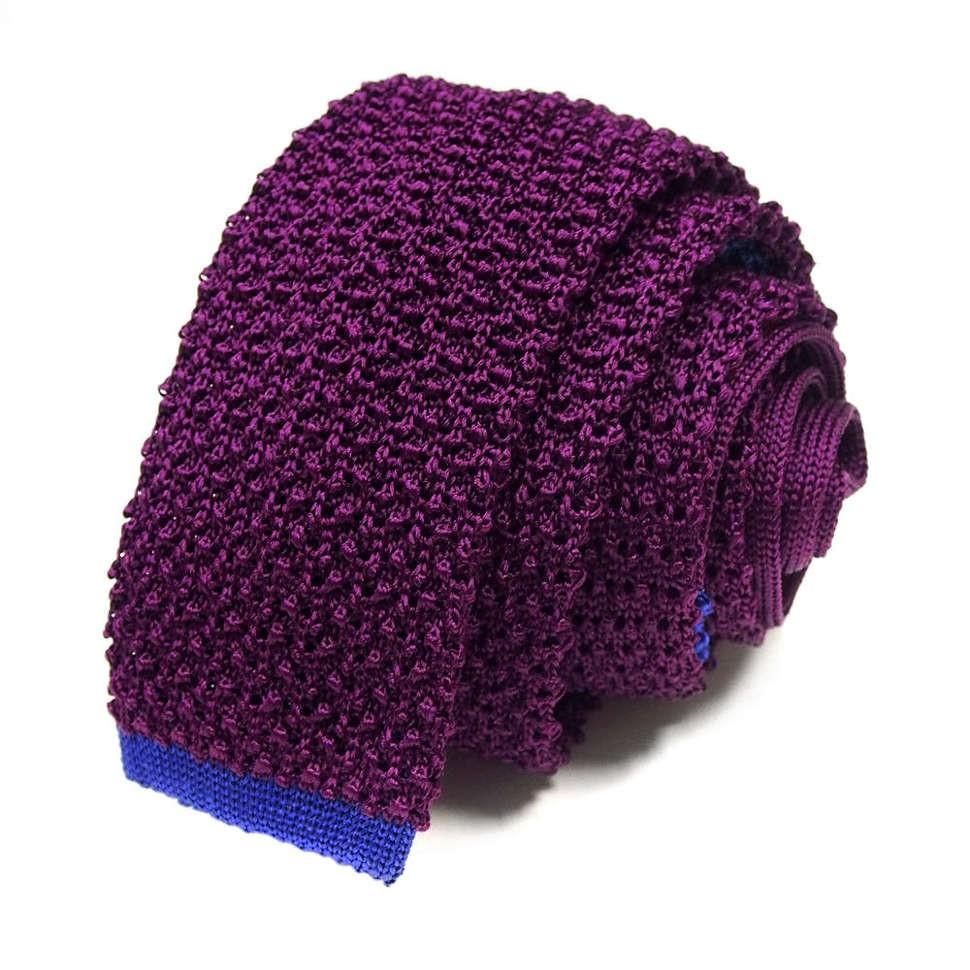Модный вязаный галстук-селедка мужской Missoni