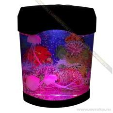 Ночник LED mini «Медузы в аквариуме»