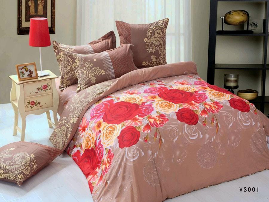 Комплект постельного белья из сатина Cleo
