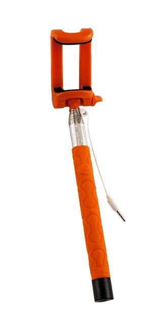 Оранжевый монопод для селфи Kjstar Z06-4