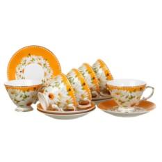 Оранжевый чайный набор