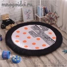 Теплый детский игровой коврик Кактус