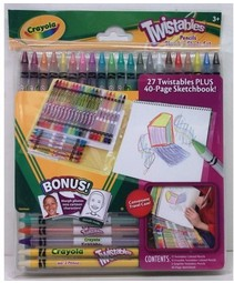Набор для рисования с выкручивающимися карандашами