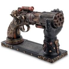 Статуэтка в стиле Стимпанк «Шестиствольный револьвер»