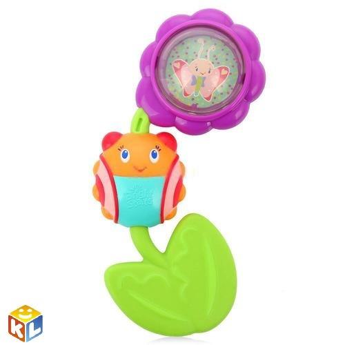 Развивающая игрушка Божья коровка на цветочке