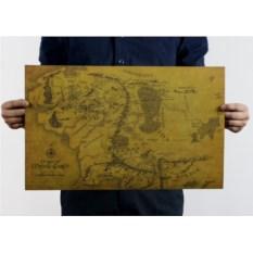 Плакат Карта Средеземья
