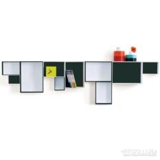 Полки картонные Black & white