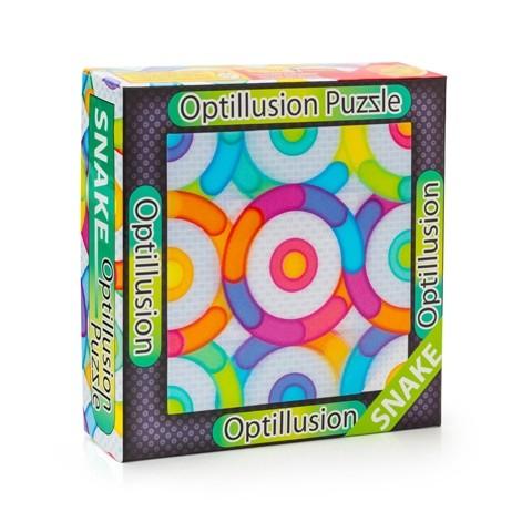 3D пазл-игра Оптические иллюзии: Змейка