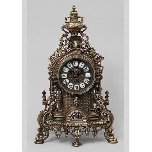 Часы каминные бронзовые