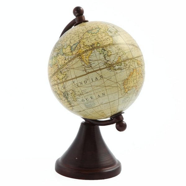 Глобус Кассини,  желтый