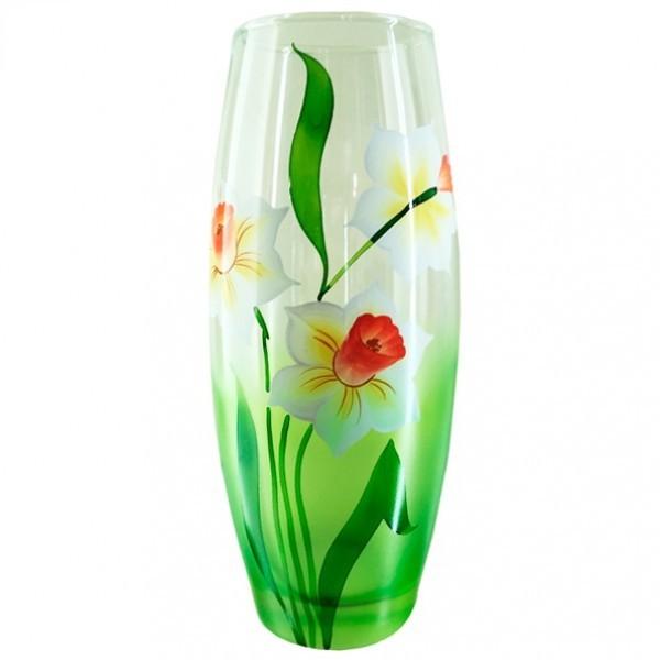 Стеклянная ваза Нарциссы