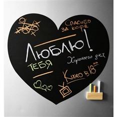 Магнитная доска на холодильник Love «Сердце»