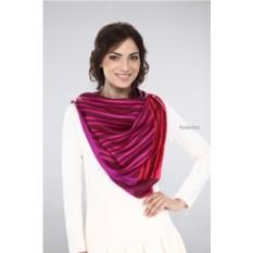 Женский шелковый платок Ungaro (цвет: фуксия)