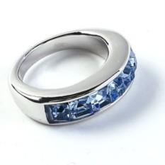 Кольцо с кристаллами Swarovski Карри