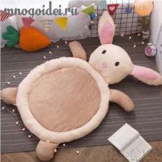 Теплый детский игровой коврик Ласковый Зайка