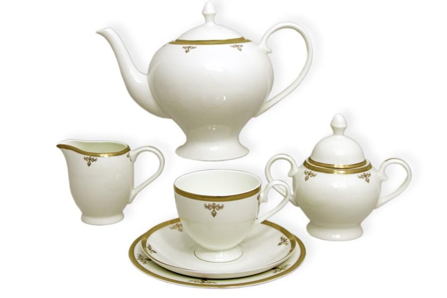 Чайный сервиз Ампир из 40 предметов на 12 персон