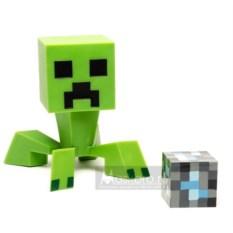 Пластиковый Крипер с алмазным блоком