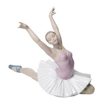 Фарфоровая статуэтка Балерина. Искусство танца