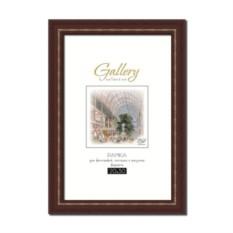 Стандартная коричневая фоторамка Gallery 20х30