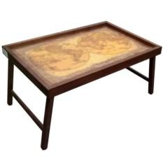 Столик для завтрака Карта мира