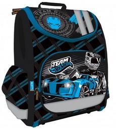 Ортопедический рюкзак-трансформер с EVA-спинкой Hot Wheels