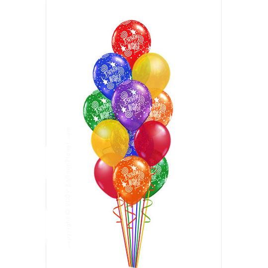 25 шаров с Днём рождения!