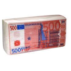 Салфетки 500 €