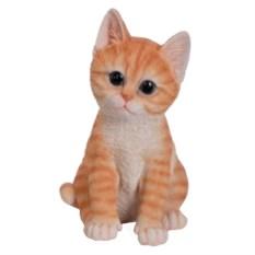 Декоративная садовая фигура Котёнок