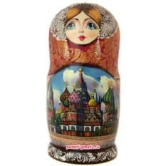 Набор матрешек «Москва златоглавая»