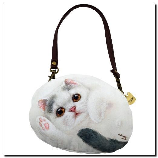 Чехол-сумочка S с ручкой и тесьмой Кошка Флауэр