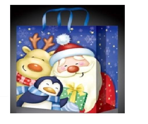 Новогодний пакет Дед мороз и его друзья