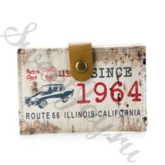 Визитница Historic Route 66 – White