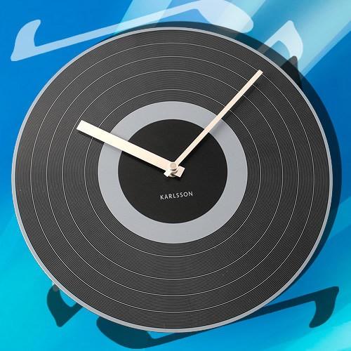 Настенные часы Виниловое время