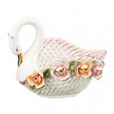 Декоративное изделие Лебедь Ceramiche Lanzarin
